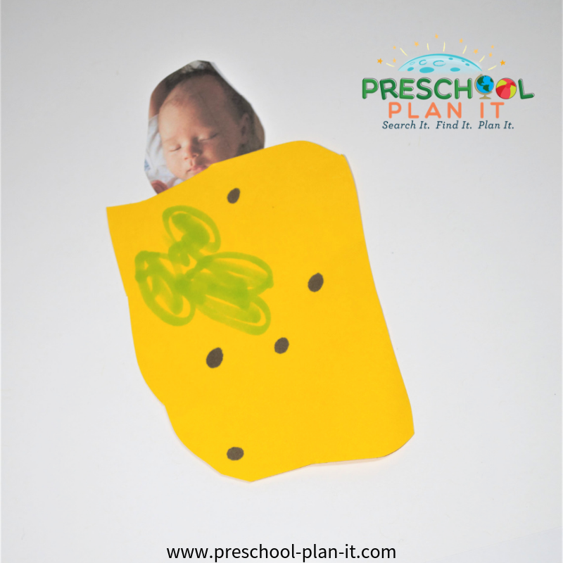 Art Activity for a Babies Theme for Preschool