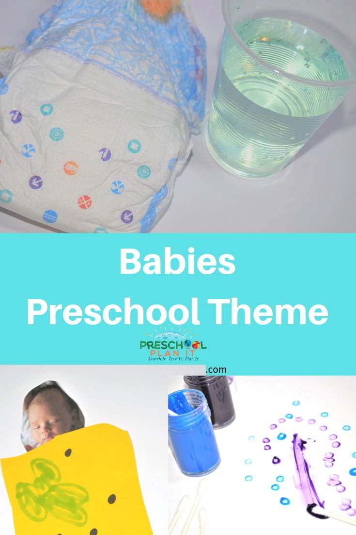 Babies Theme for Preschool