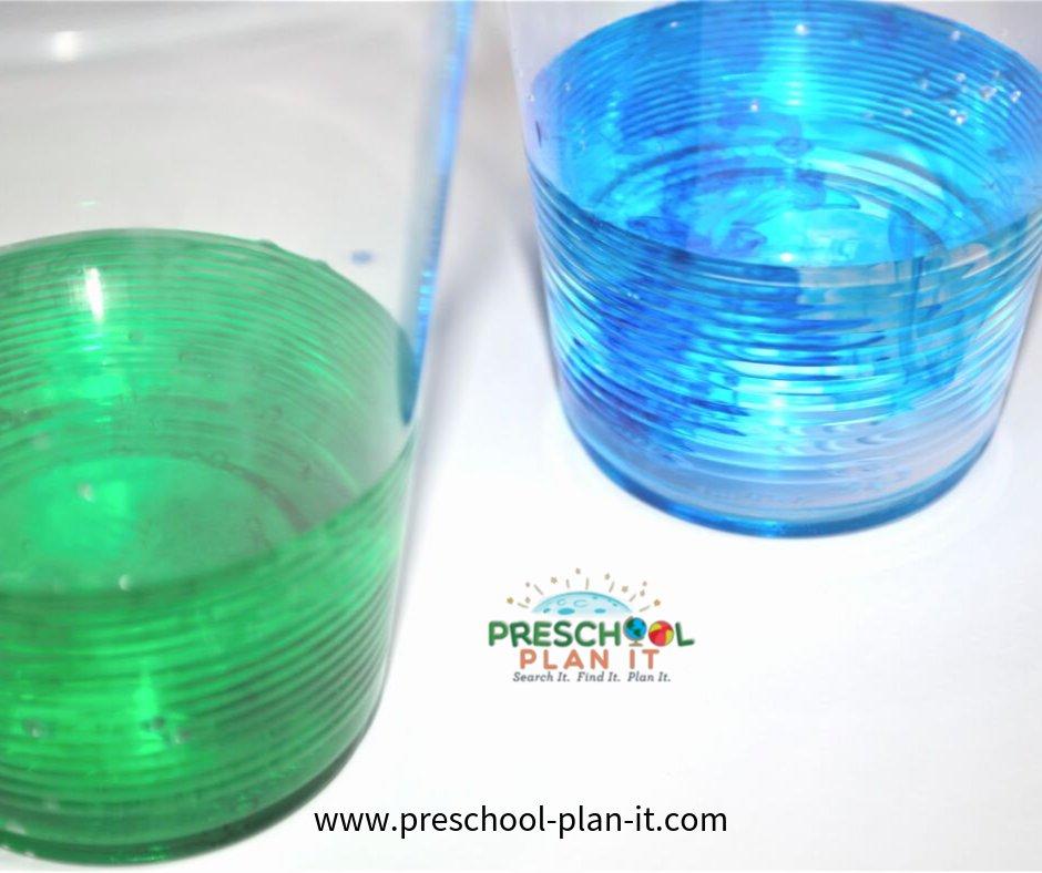 Back to School Preschool Theme Science Activity