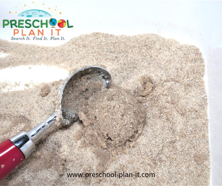 Sand Balls Activity for Balls Preschool Theme