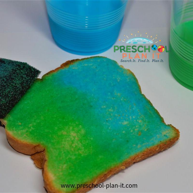 Preschool Bread Theme Snack Idea