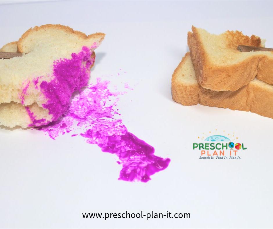 Preschool Bread Theme Art Activity