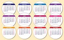 Preschool Monthly Themes