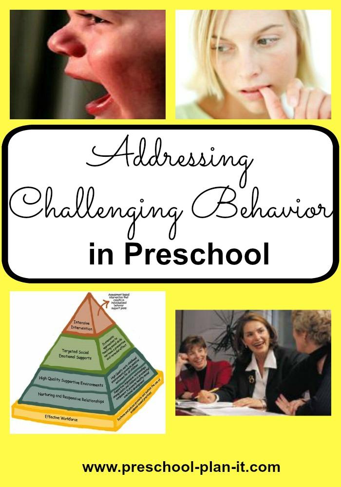Challenging Preschool Behavior