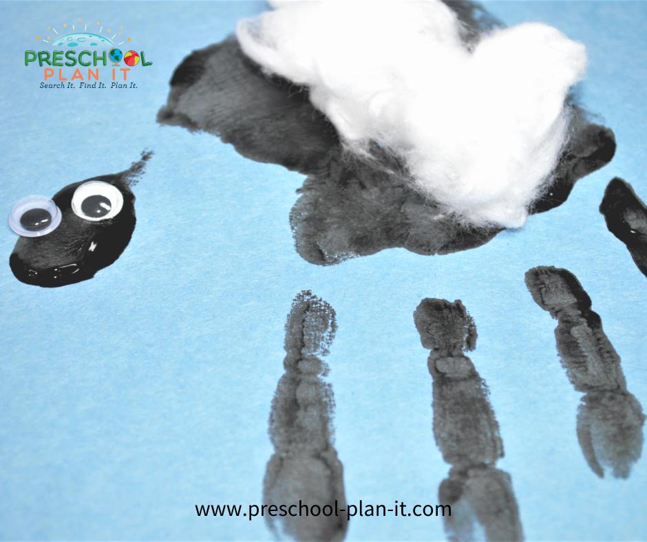 Christian Christmas Theme for Preschool Art Activity