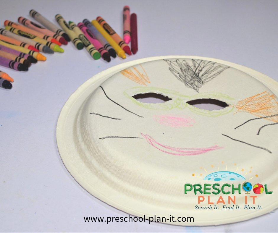 Animal Mask Act Activity for a Preschool Circus Theme