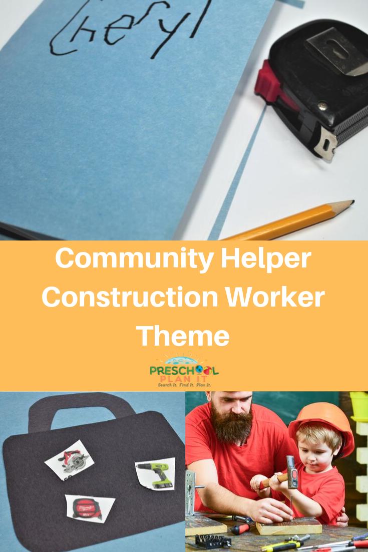 Community Helpers Construction Theme