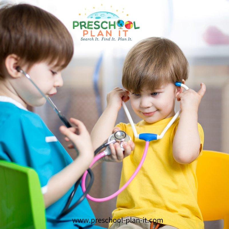 Community Helper Doctor Preschool Theme Science Activity
