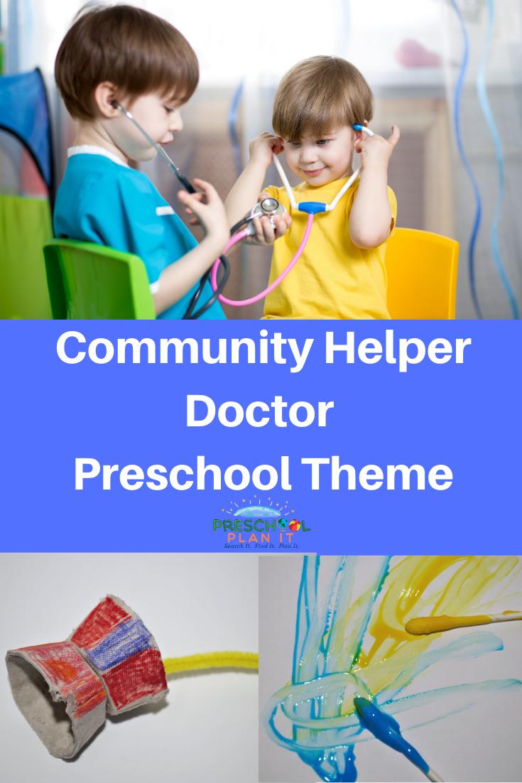 Community Helper Doctor Preschool Theme