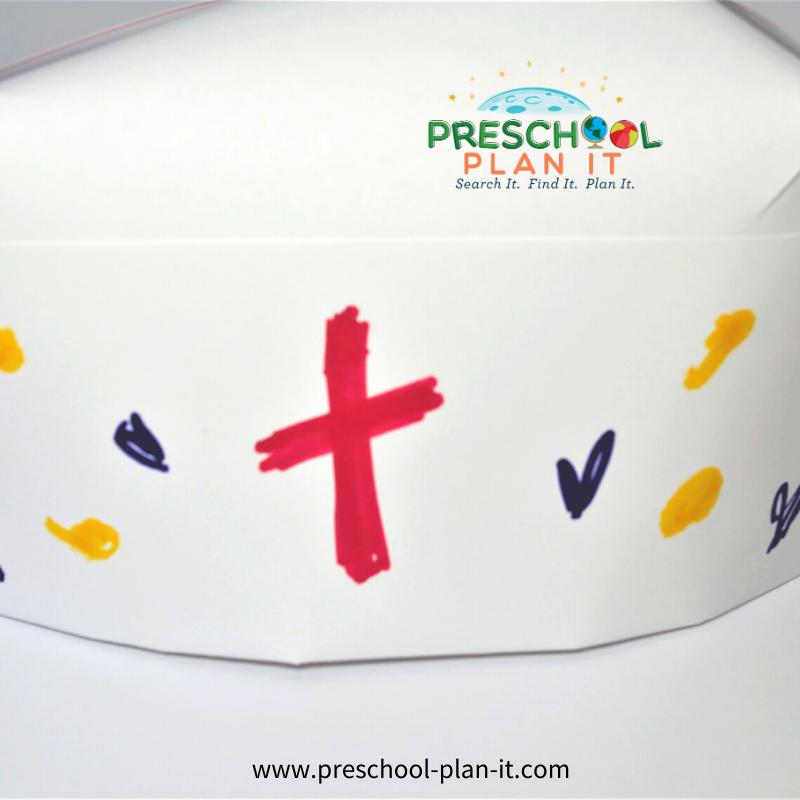Community Helpers Nurse Preschool Theme Art Activity