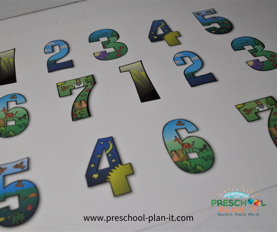 Creation Day 7 Preschool Theme Match Activity