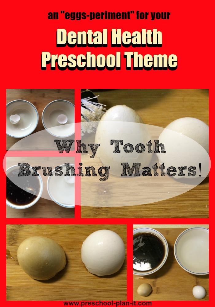 Dental Health Preschool Theme Tooth Brushing