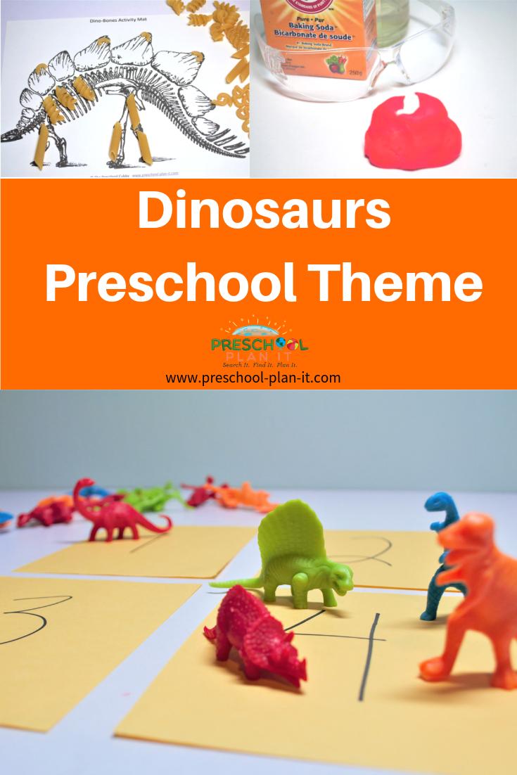 Dinosaurs Preschool Theme
