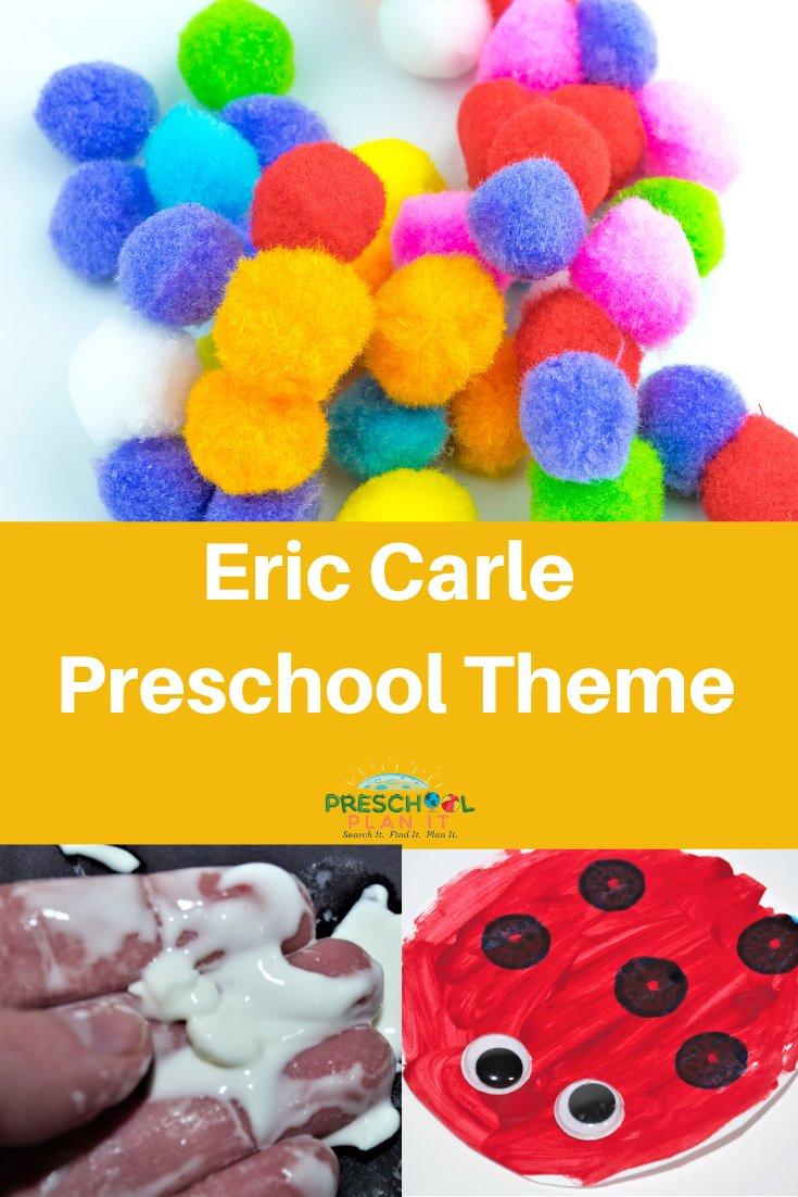 Eric Carle Preschool Theme