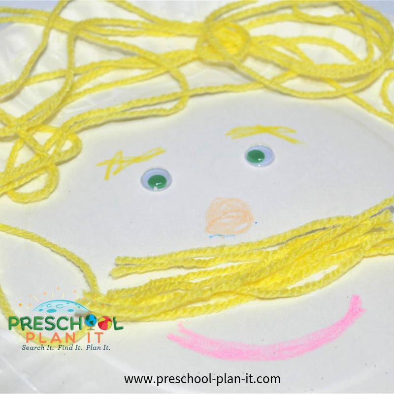 Family Activities Preschool Theme Art Activity