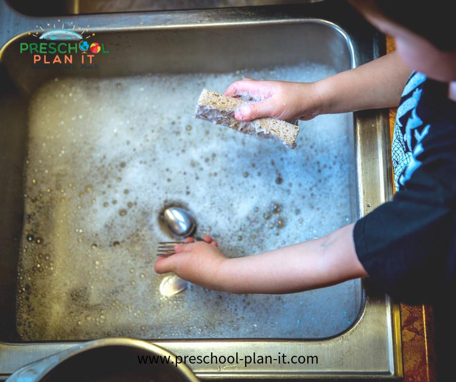 Family Activities Preschool Theme Water Table Activity