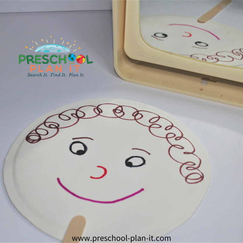 Feelings Preschool Theme Art Activity