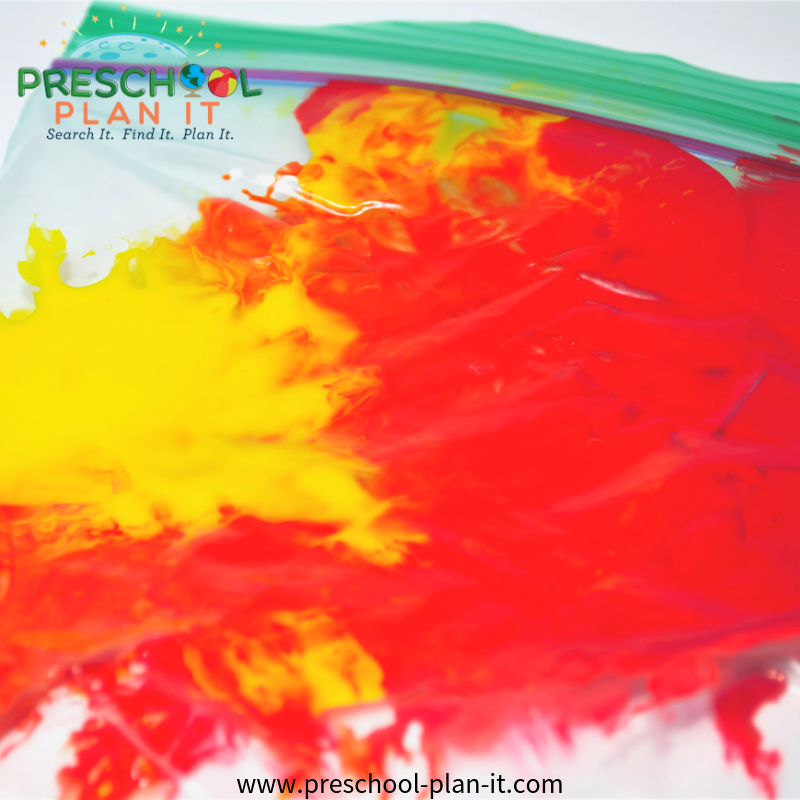 Fire Safety Preschool Theme Fun with Paint