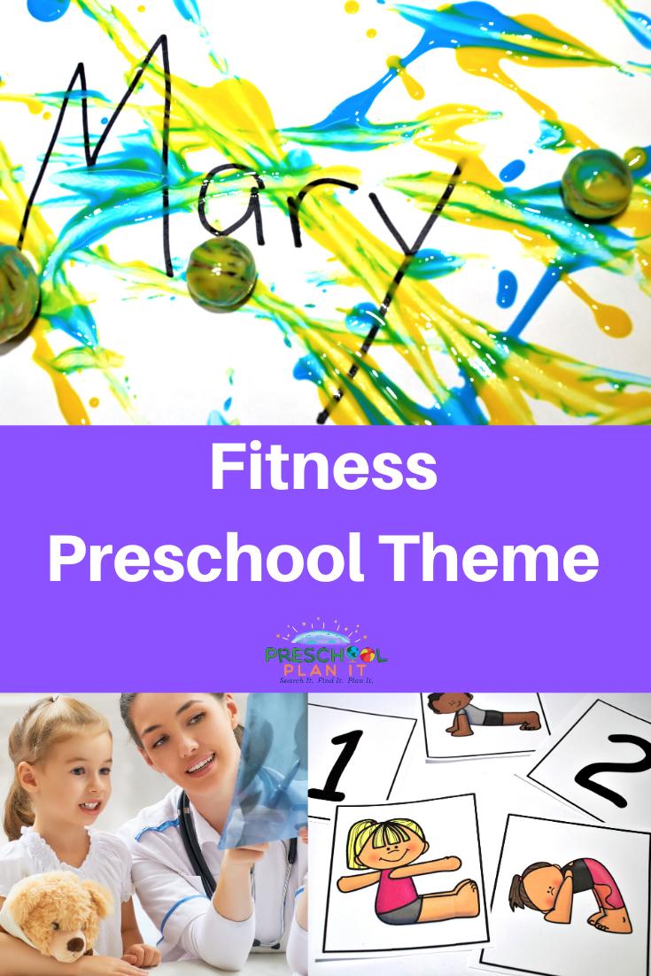 Preschool Fitness Theme