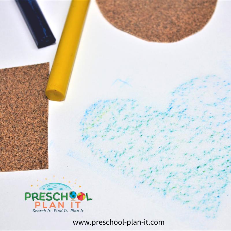 Five Senses Preschool Theme Sandpaper Fun for the Sense of Touch