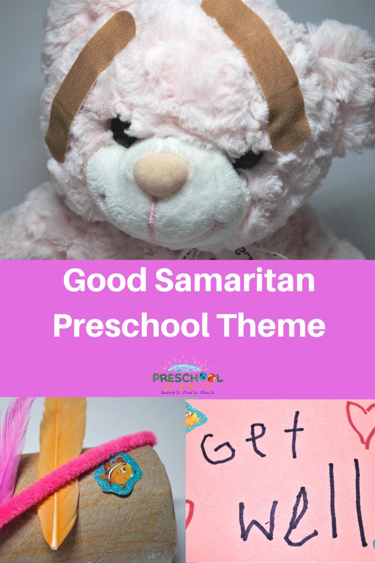 Good Samaritan Preschool Bible Theme