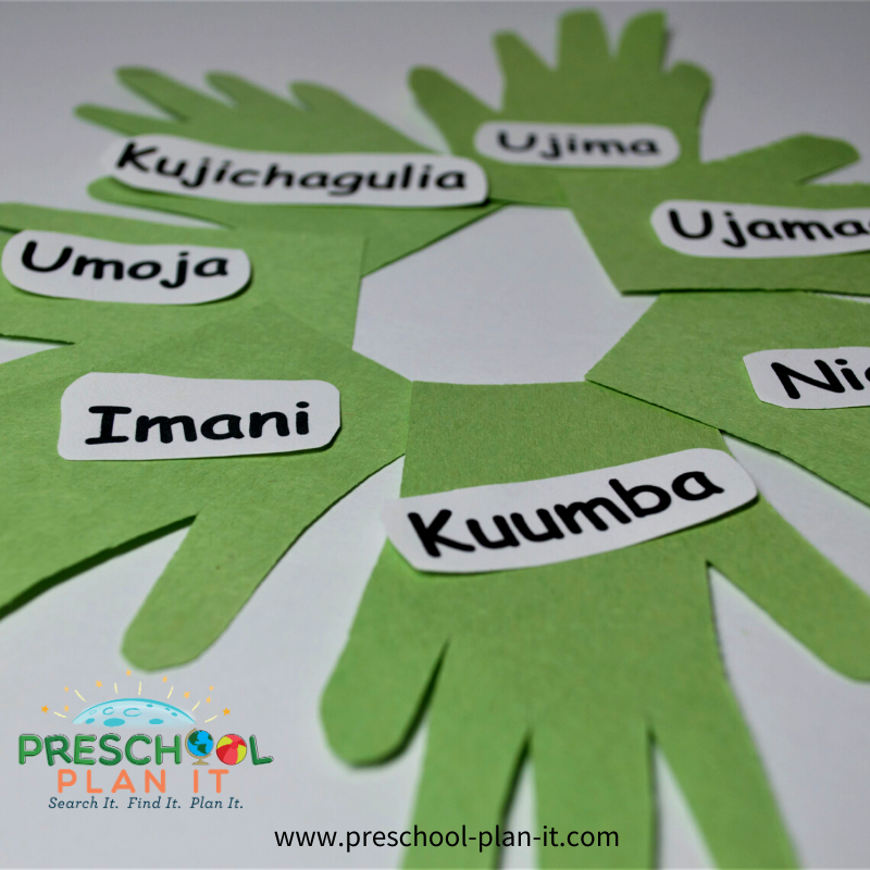 Kwanzaa Preschool Theme Writing Activity