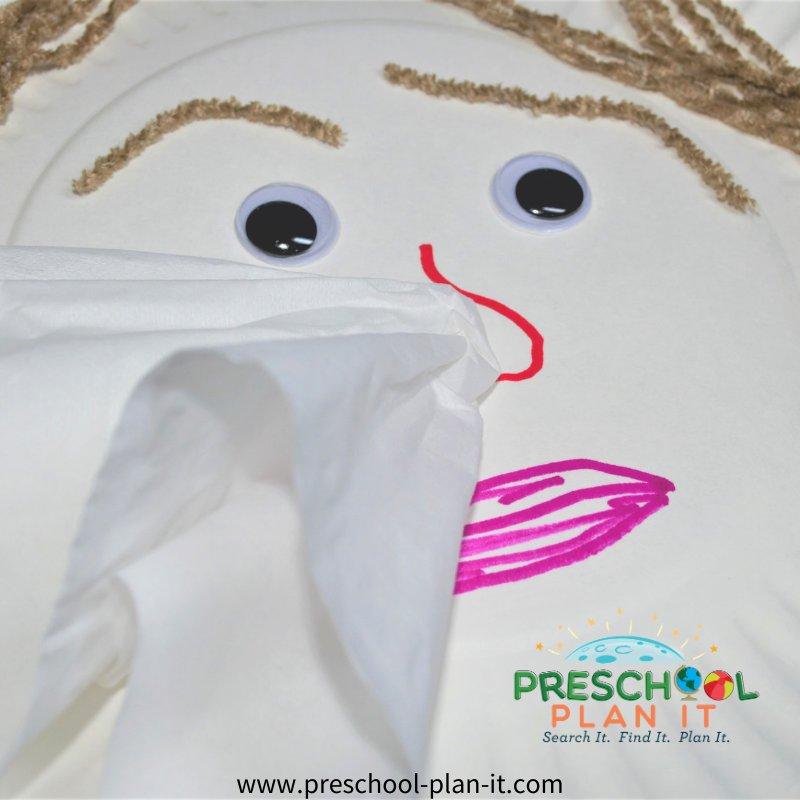 Manners Preschool Theme Art Activity