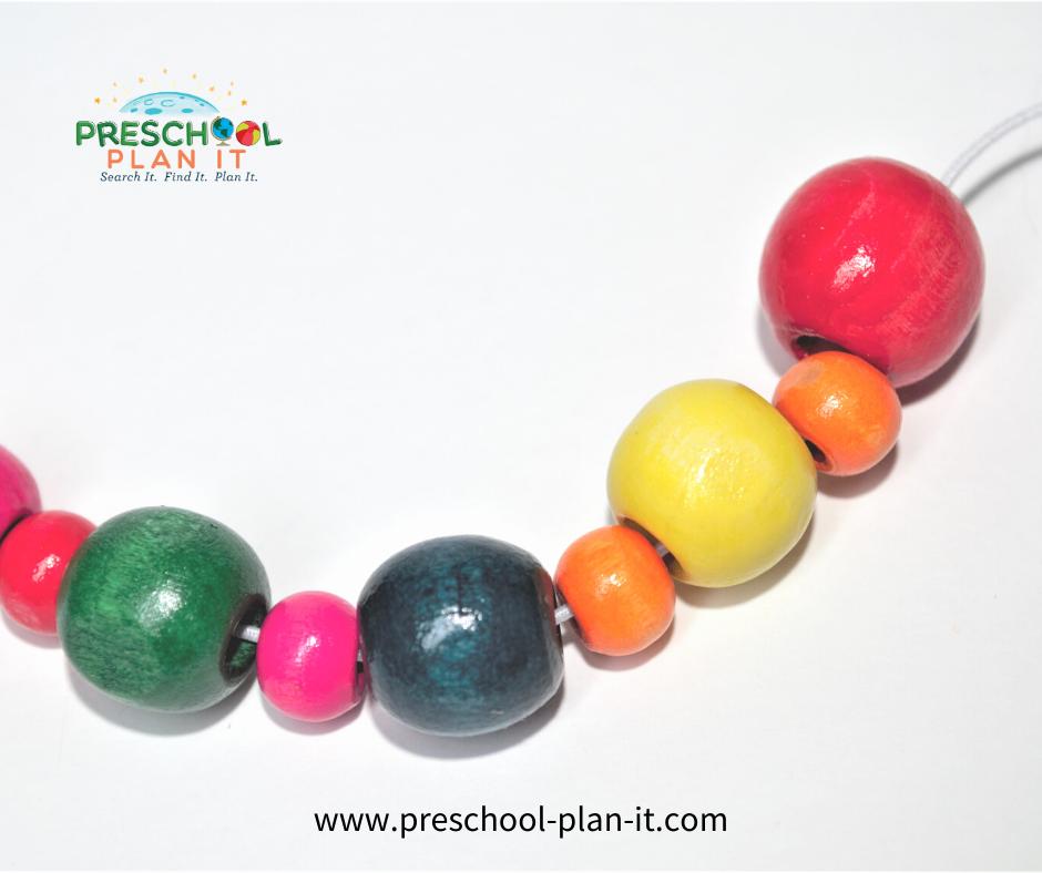 Mardi Gras Preschool Theme Math Activity
