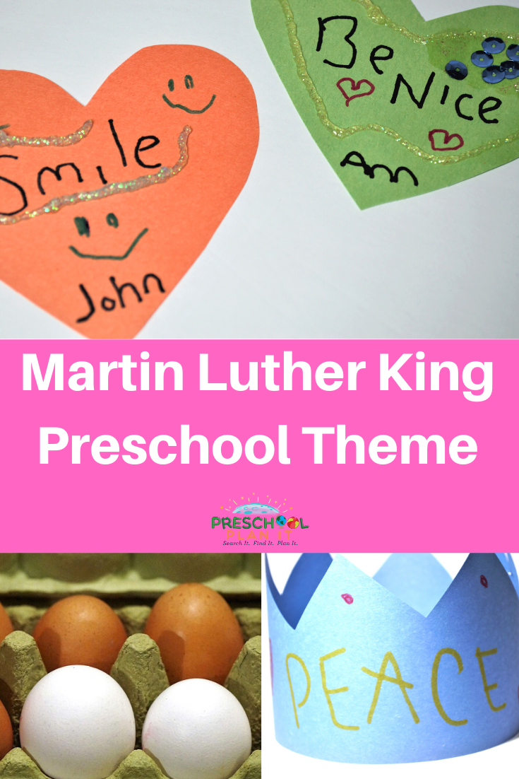 Martin Luther King Day Preschool Theme