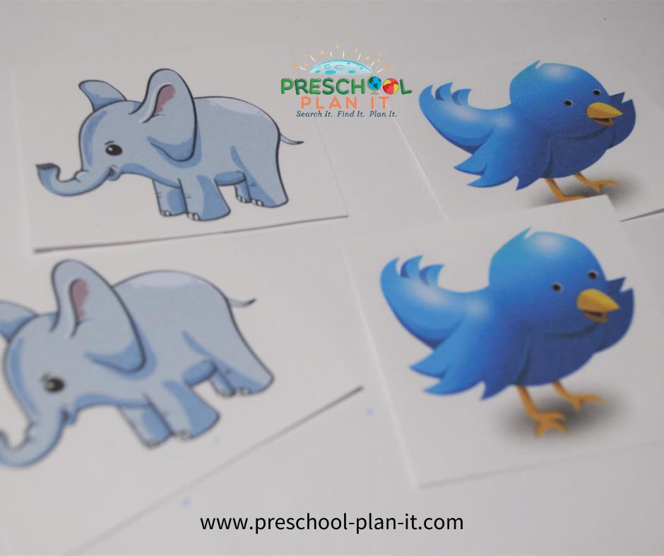 Noah's Ark Preschool Theme Math Activity