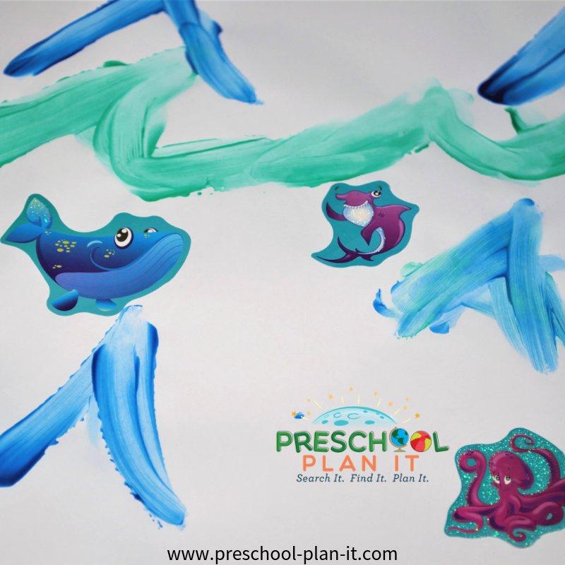 Act Activity from Ocean Life Preschool Theme