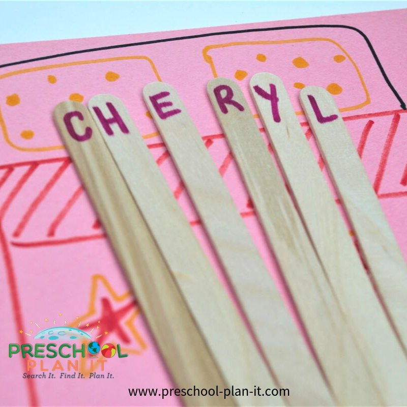 Pajamas  Preschool Theme Name Game