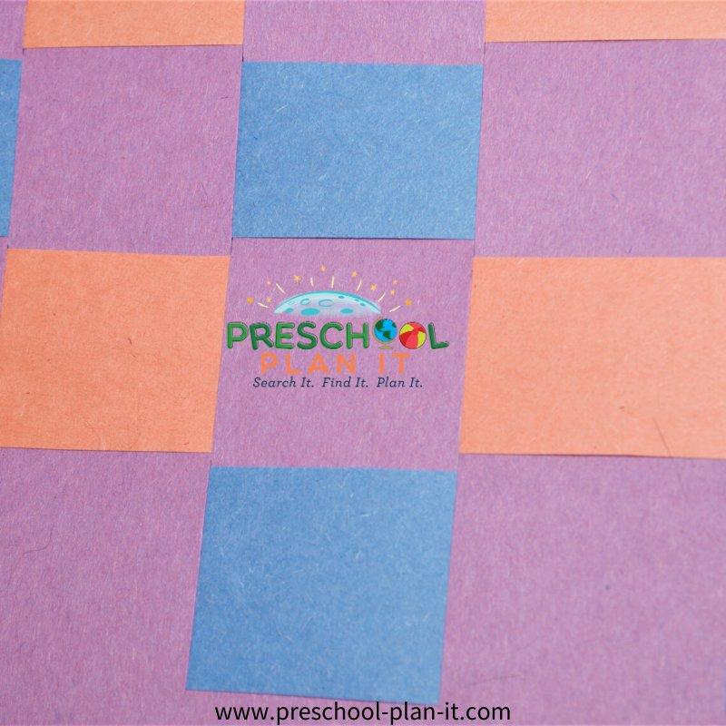 Picnic Theme for Preschool Art Activity