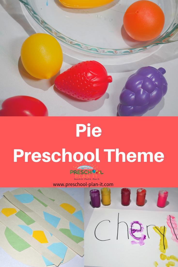 Pie Preschool Theme