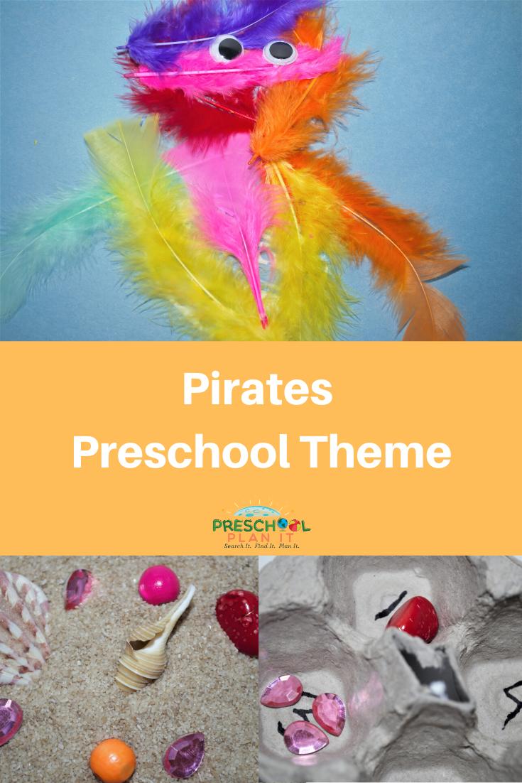 Pirates Preschool Theme