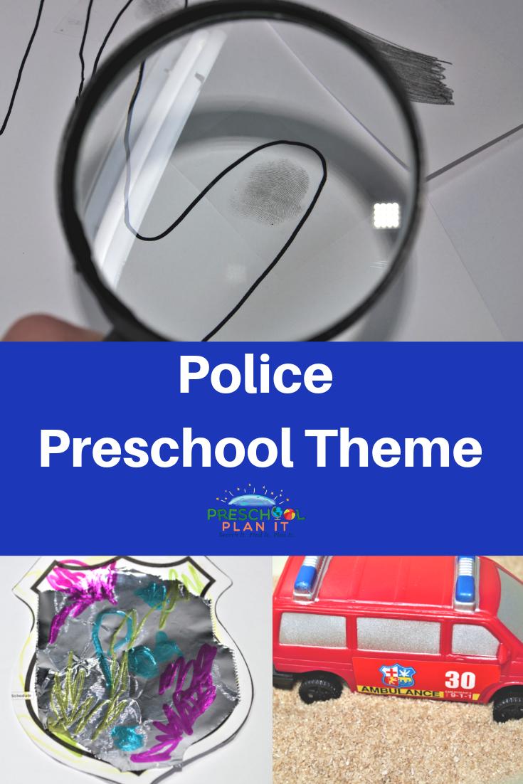 Police Preschool Theme