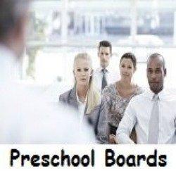 What are preschool boards?