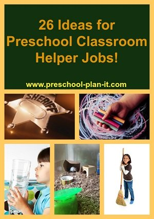 Preschool Classroom Jobs
