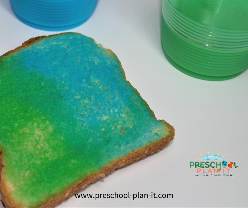 Preschool Colors Theme Snack Idea