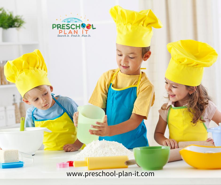 Preschool Cooking Interest Center