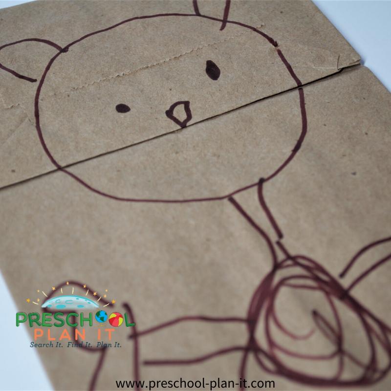 Preschool Ground Hog Day Theme Art Activity