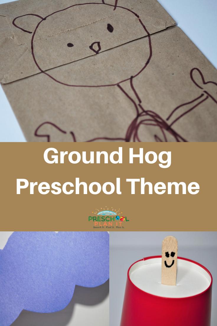 Preschool Ground Hog Day Theme