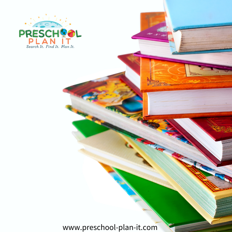 Preschool Organizing Books