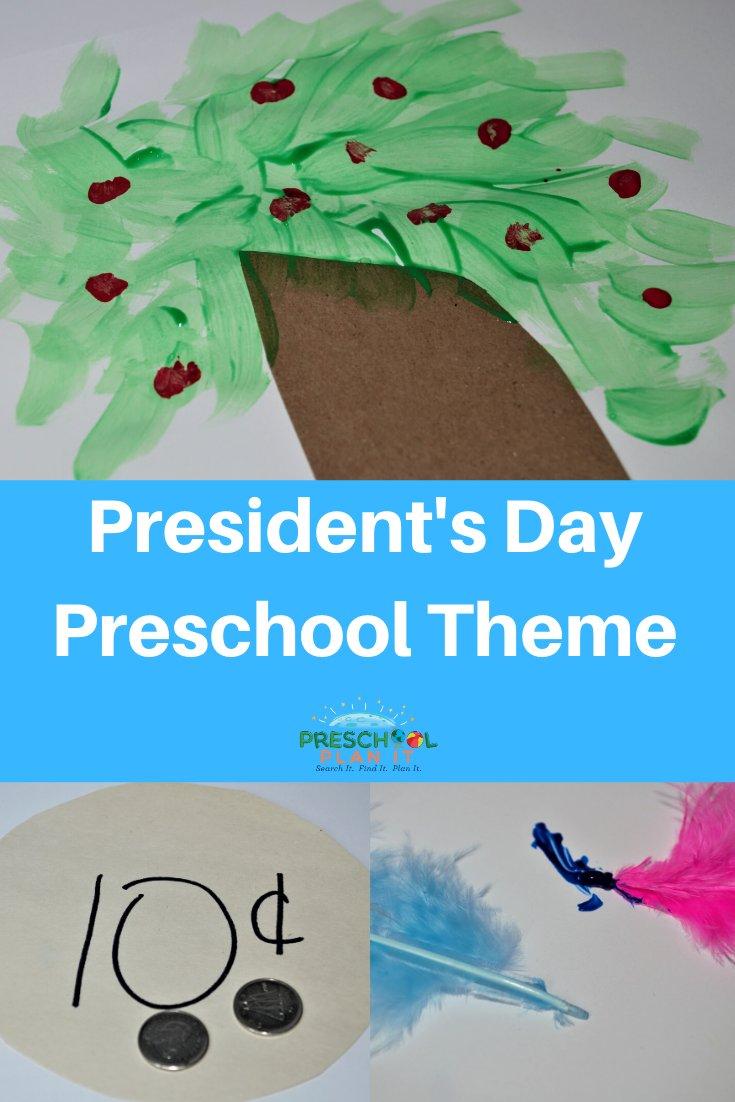 Preschool Presidents Day Theme
