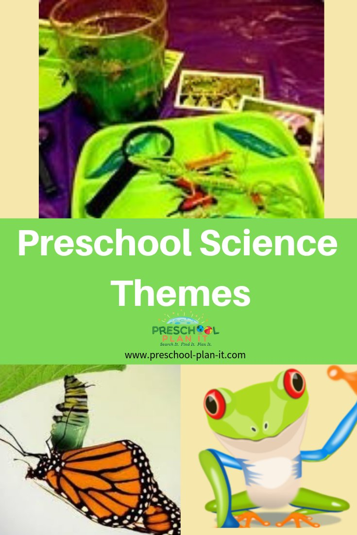 Preschool Science Themes