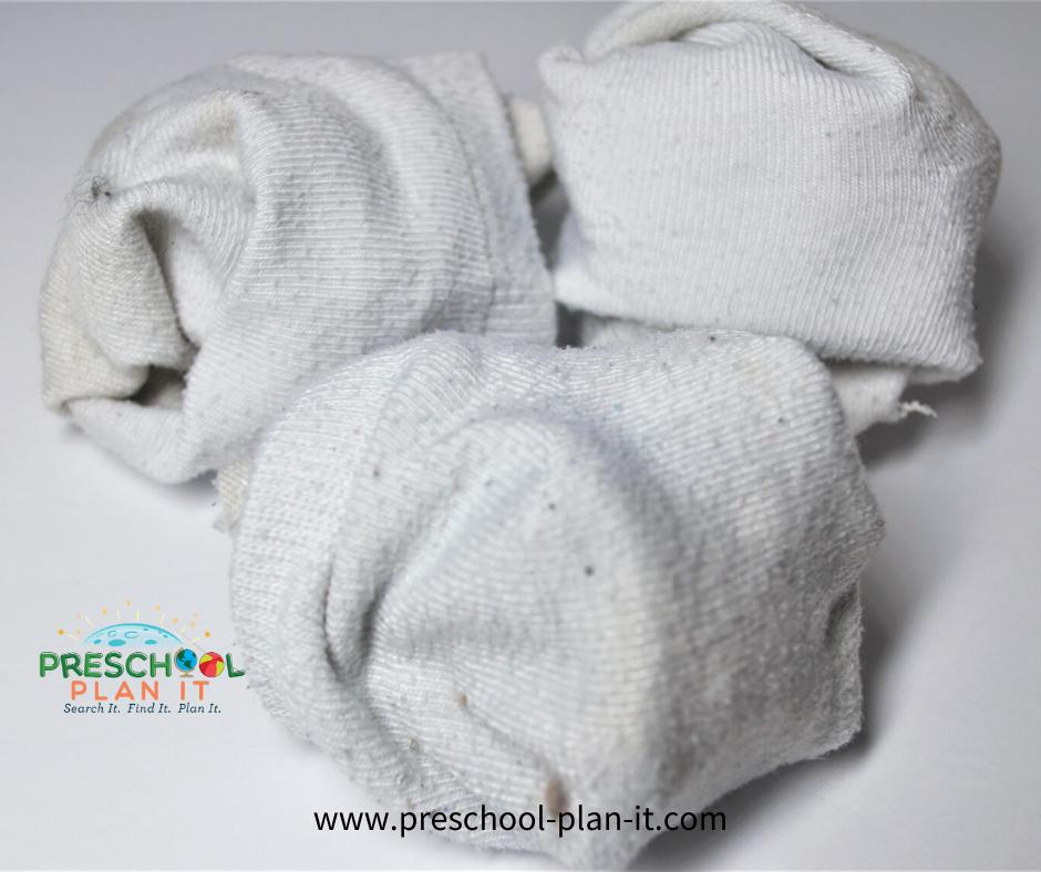 Snow Theme for Preschool Group Activity