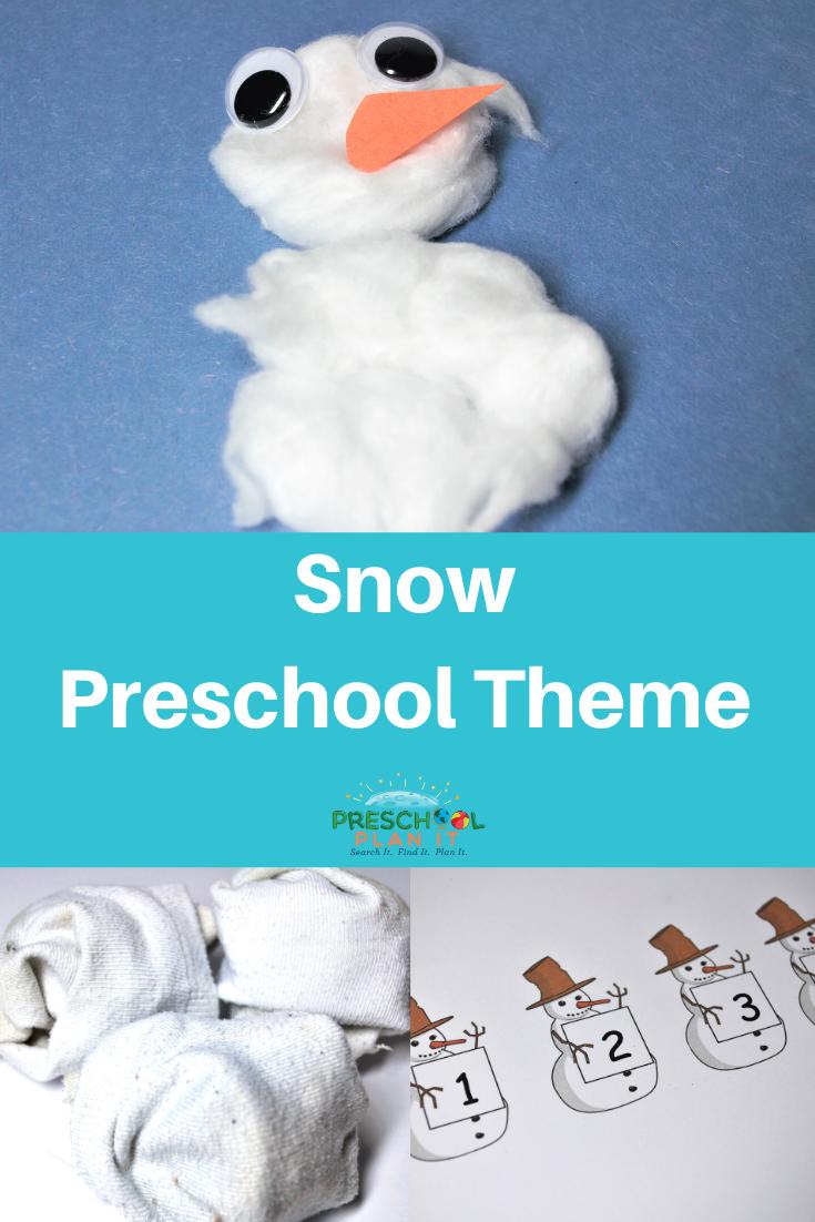 Preschool Snow Theme