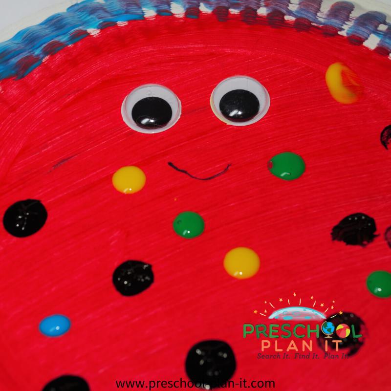 Rain Forest Preschool Theme Art Activity