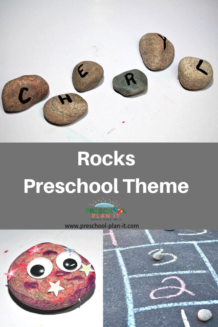 Rocks Theme for Preschool