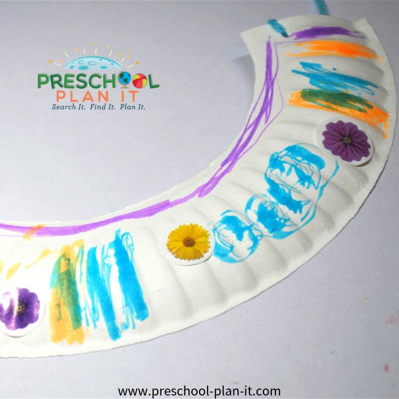 Art Activity for a Preschool Sun Theme